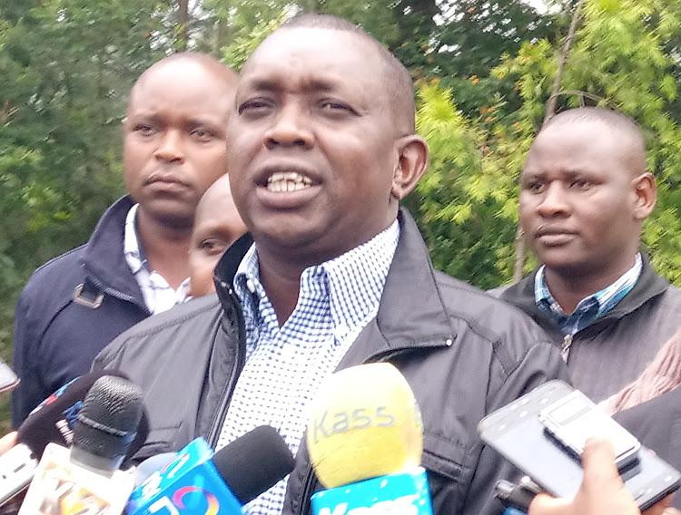 Kapseret MP Oscar Sudi in Eldoret