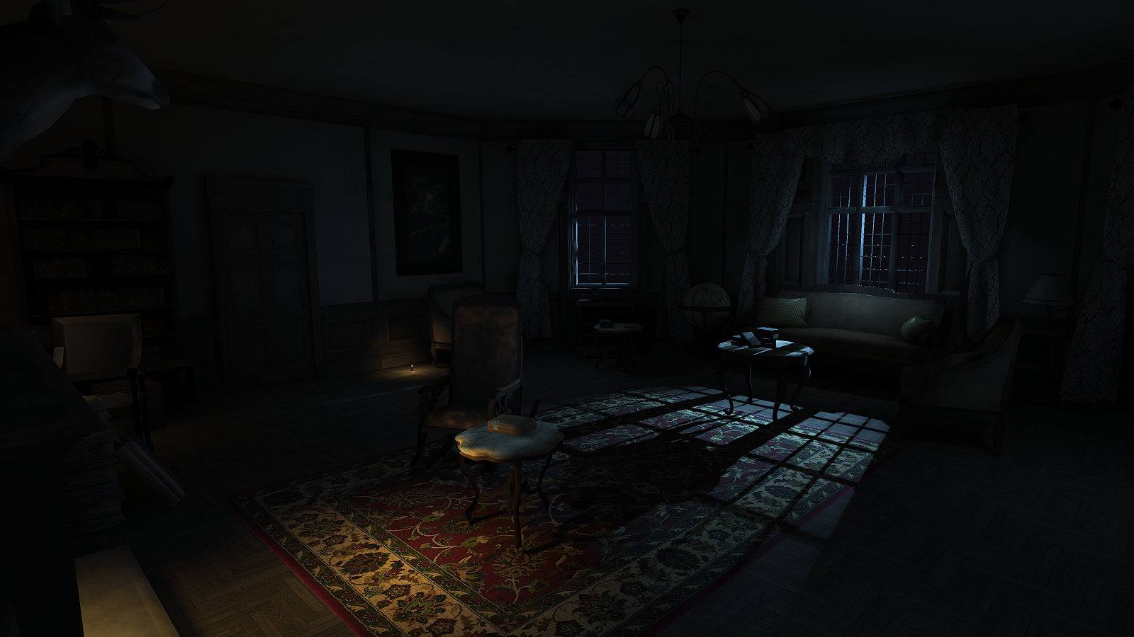 Layers of Fear: Solitude- screenshot