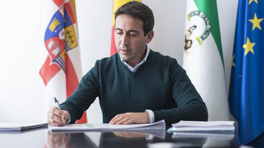 Óscar Liria, diputado de Fomento.