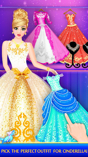 Cinderella Beauty Makeover : Princess Salon 1.8 screenshots 11