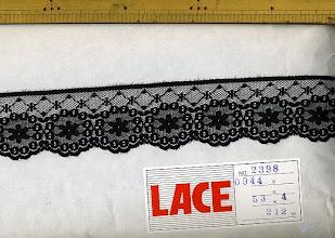 Photo: №2398-907ラッセル黒:巾45mm