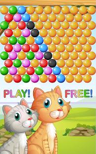 Bublina hra Kočky - náhled