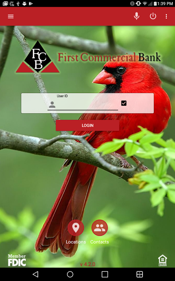 First Commercial Bank - MO- screenshot