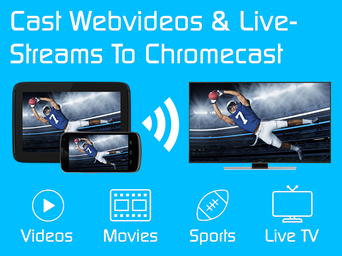 video amp tv cast chromecast   android apps on google play