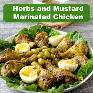 Easy Mediterranean Roasted Chicken Drumsticks