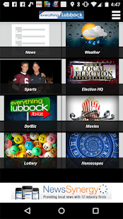 EverythingLubbock KLBK KAMC - screenshot thumbnail