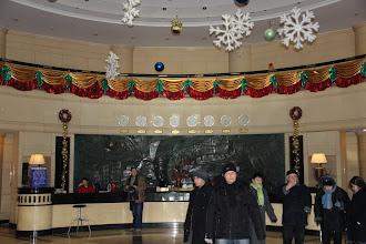 Photo: Egyik szálloda előtere