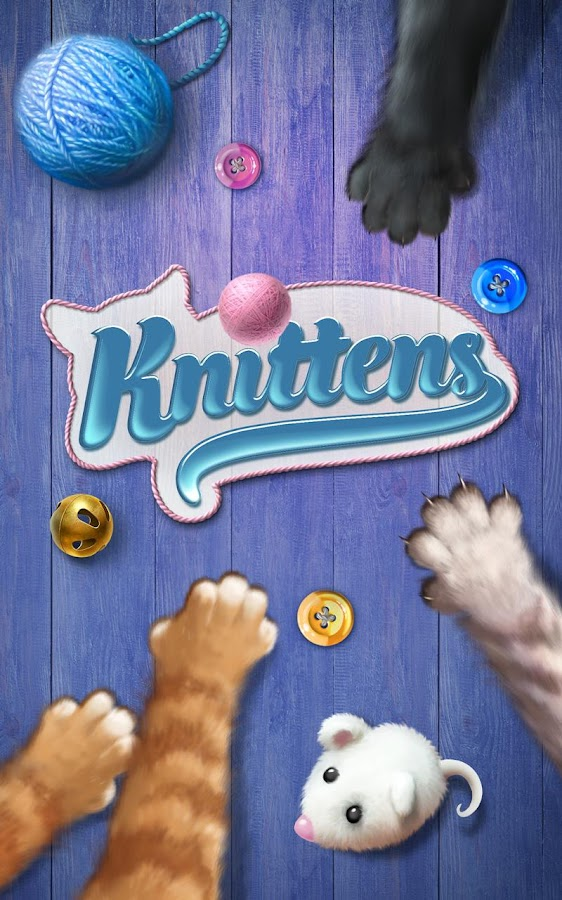 Knittens: Sweet Match 3 Puzzles & Adorable Kittens (Unreleased)- screenshot