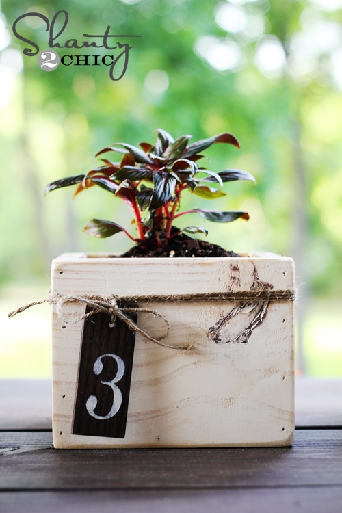 Mini Planter Boxes: These will help you make some money.