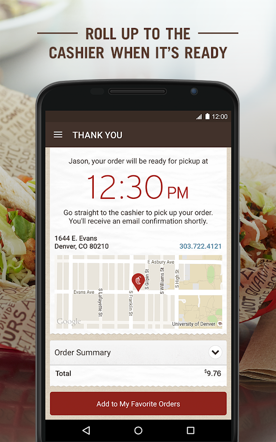 Chipotle- screenshot