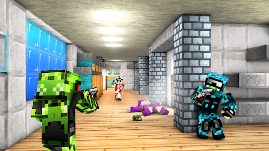 Block Guns: Online Shooter 3D Mod Apk (Free All Weapon) 3