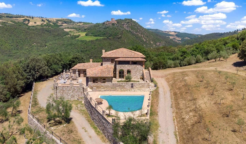 Villa avec jardin et terrasse Castiglione d'Orcia