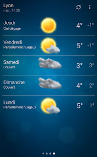 Météo - Weather Capture d'écran