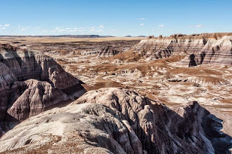 Photo: Petrified Forest National Park, Arizona, USA