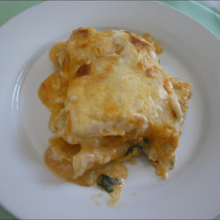 Codfish and Spinach Lasagna Recipe