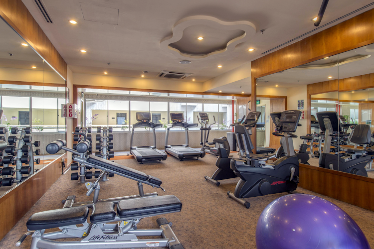 Gym at Somerset Liang Court
