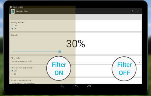 bluelight filter classic - apps on google play