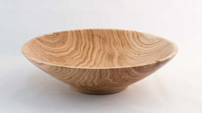 "Photo: Tim Aley - Bowl - 9.5"" x 2"" - Beechnut"