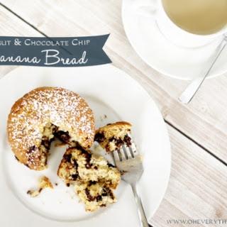 Recipe // Walnut and Chocolate Chip Banana Bread