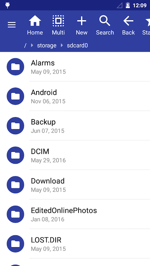 SD File Manager File Explorer- screenshot