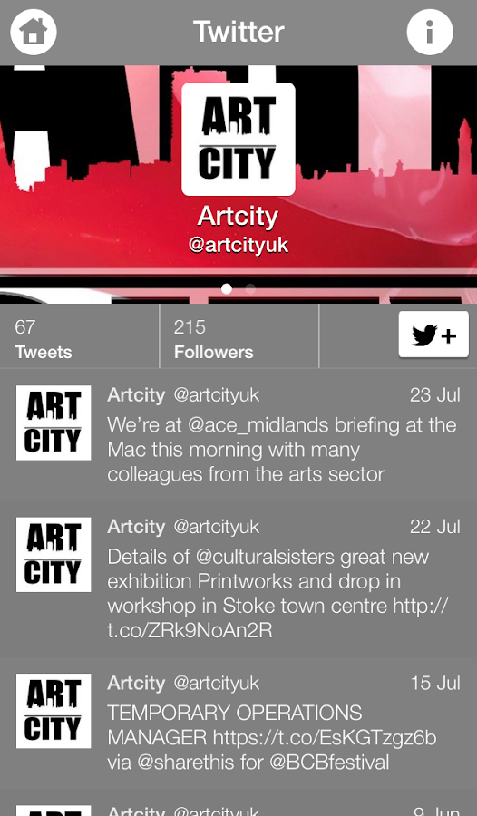 ArtCityUK- screenshot
