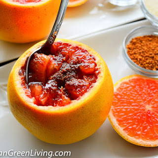 Quick and Easy Grapefruit Snack