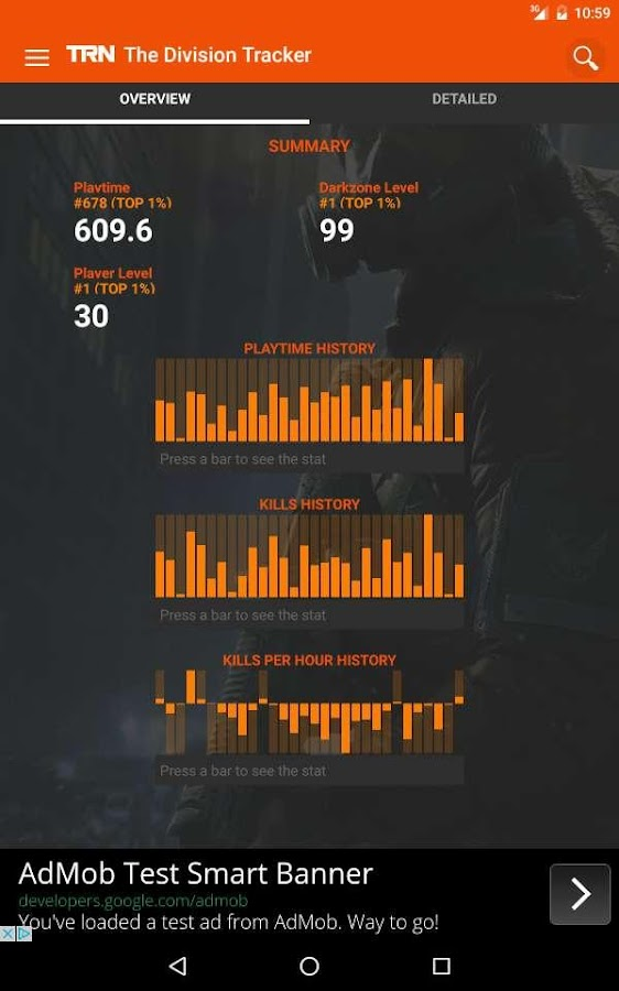 TRN Stats: The Division- screenshot