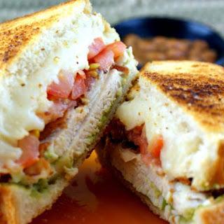 Chicken and Avocado Sandwich.