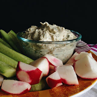 Goat Cheese and Anchovies Cheese Spread.