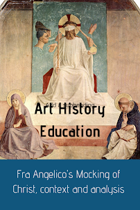 Video on Fra Angelico's The Mocking of Christ providing context and analysis #kellybagdanov #homeschool #homeschooling #arthistory #arthistoryresource #charlottemasonresource #classicalconversationresource #sonlightresource #storyoftheworldresource #aparthistory #arteducators #artteachers #Fraangelico #mockingofchrist #domincanfriars #earlyrenaissanceart #cccycle1