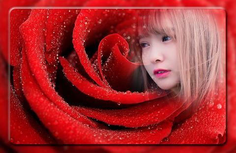 Macro Rose Photo Frames - náhled