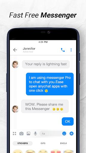 Messenger: Free Messages, Text, Video Chat 1.2.8 screenshots n 2