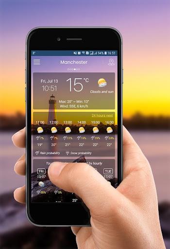 Weather App (APK) scaricare gratis per Android/PC/Windows screenshot