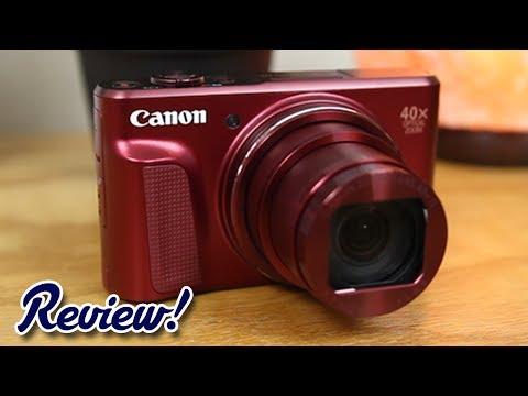 Red Canon Powershot SX720