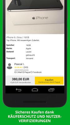 Gebraucht.de Kleinanzeigen - screenshot
