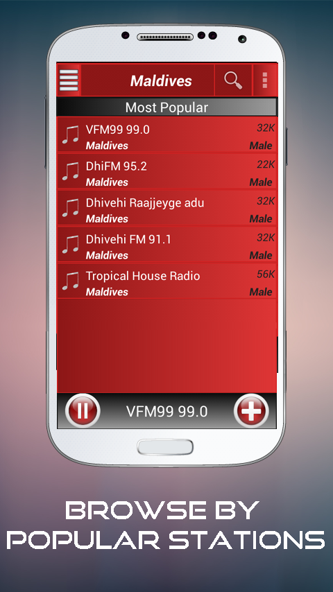 A2Z Maldives FM Radio- screenshot