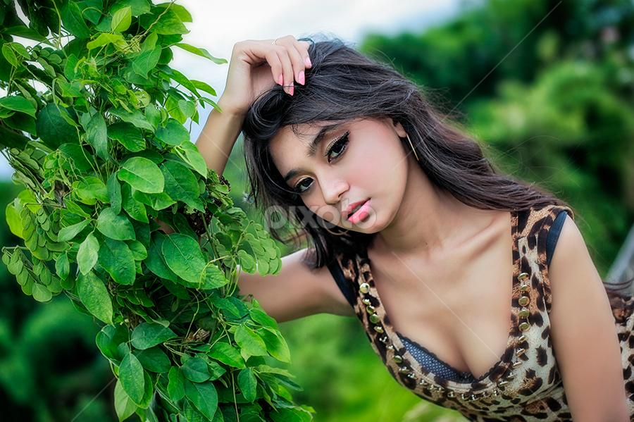 Sexy Leopard by Aira AnacksunamunImhotep - People Portraits of Women