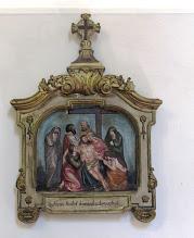 """Photo: *XIII. stáció: Jézus testét leveszik a keresztről és anyja ölébe fektetik """"Szűzanyám, esengve kérlek, hathatósan vésd szívembe, Szent Fiadnak sebeit"""" (Stabat Mater)"""