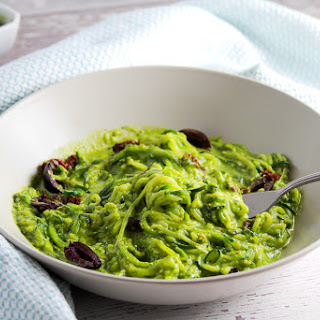 Pistachio Pesto with Cannelli Beans