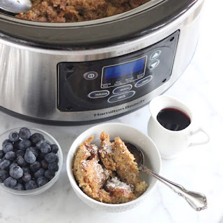 Slow Cooker French Toast Casserole.