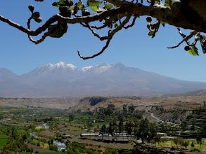 Photo: Colcatal mit Chachani (6075 m)