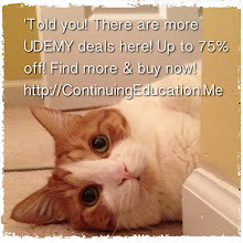 Photo: 'Told you! 75% off Udemy deals are in here! Only this weekend at ContinuingEducation.Me #intercer #cat #pet #cats #pets #meow #petsofinstagram #beautiful #cute #animal #picpets #kitty #kitten #catlovers #learn #education #school #teach #books #programming #college #udemy #holiday #learn #door #eyes - via Instagram, http://instagr.am/p/U7esWdpfg6/