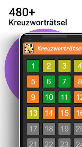 Kreuzwortru00e4tsel Deutsch kostenlos Apk 1