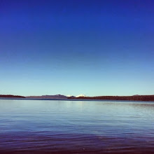 Photo: Going through photos and grateful to see this memory of kayaking at Waldo Lake. What a place it is. Thank you universe for making it.