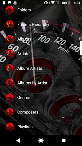 Download Poweramp Skin v3 Speed! For PC 1