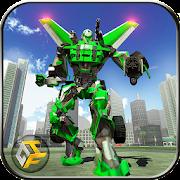 Airplane Robot Hero - City War Survival