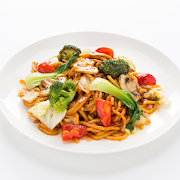 Vegetable Noodle with Oyster sauce