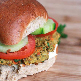 Curried Lentil Burgers