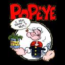 Popeye HD Wallpaper Tab Theme