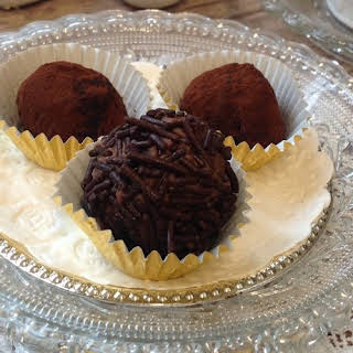 Authentic German Chocolate Rum Balls.